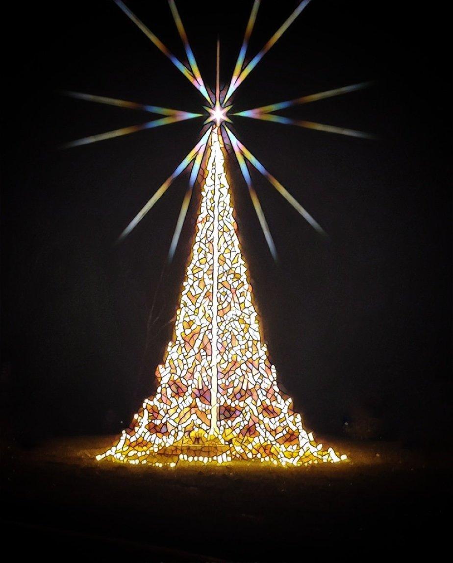 Christmas Tree at Three Rivers