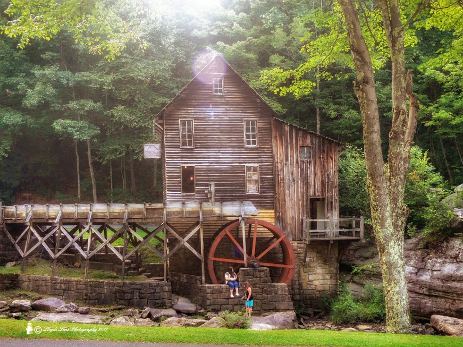Glade Creek Grist Mill at Babcock State Park