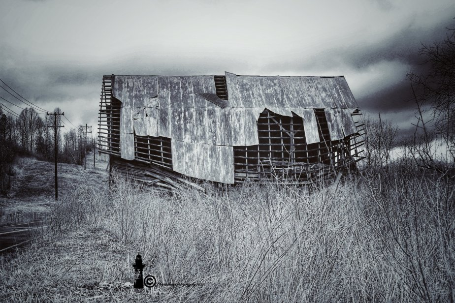 Old Barn On Muddlety Creek