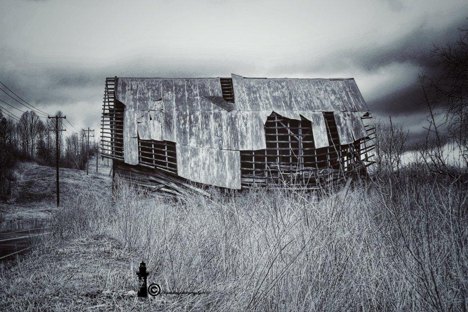 Old Barn On Muddlety Creek