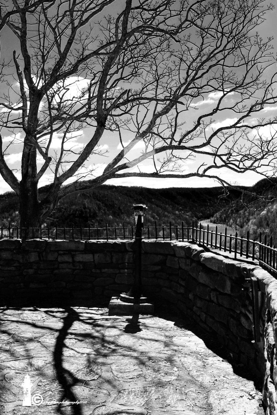 Hawk's Nest State Overlook in EarlySpring