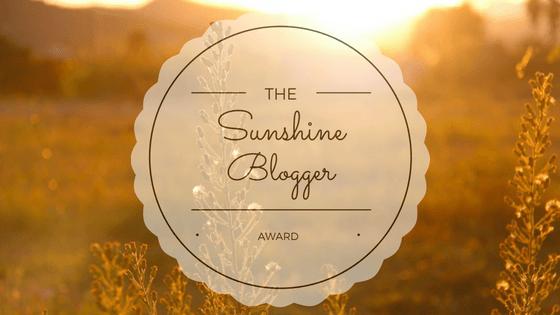 Sunshine Blogger Awards numberone