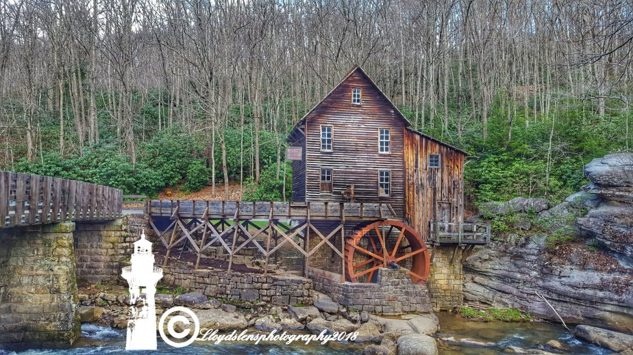 Glade Creek Grist Mill at Babcock State Park4.29.18