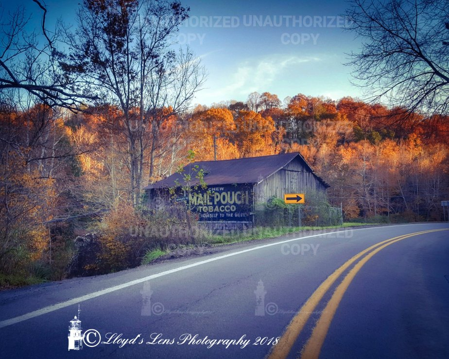 The Mail Pouch Tobacco Barn And The Drive By Photographer